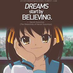 haruhi dreams